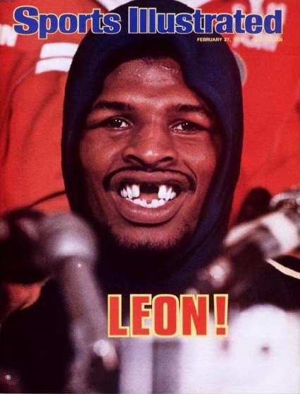Happy birthday, Leon Spinks!
