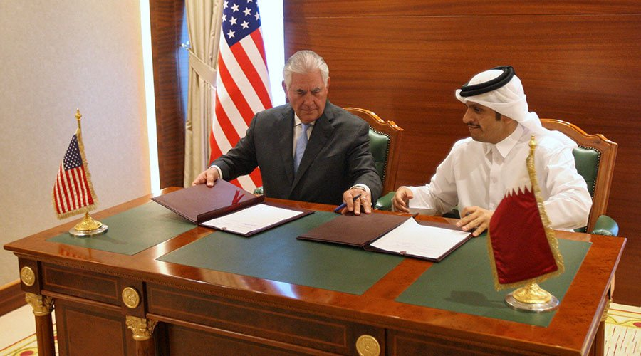 'Two-way street': US, Qatar sign agreement to step up Doha's counter-terrorism efforts