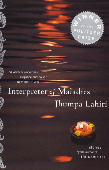 Happy birthday to Jhumpa Lahiri!   We\re proud to publish THE INTERPRETER OF MALADIES and THE NAMESAKE.