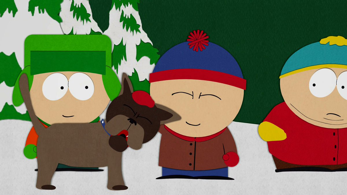 RT @SouthPark: A boy and his dog #AllAmericanPetPhotoDay https://t.co/XDBNfuLyGx