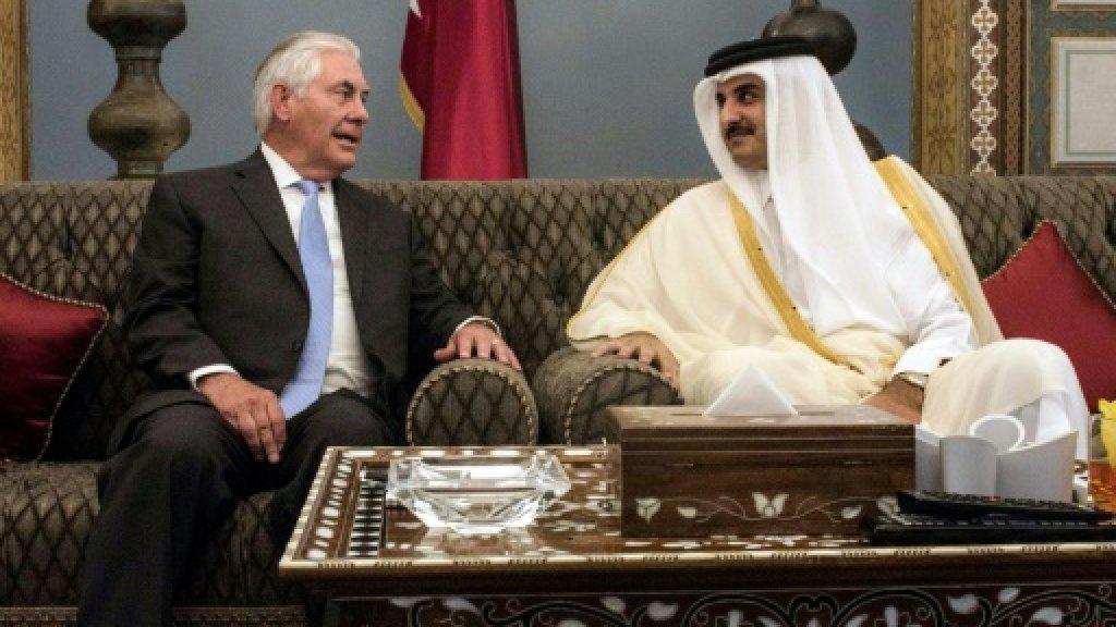 US, Qatar sign agreement on fighting terrorism