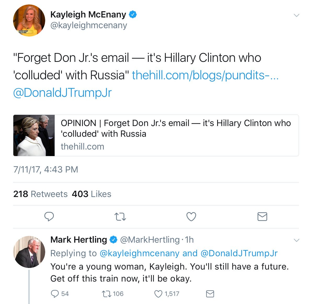 The Replies: When a respected Three Star General begs you to stop embarrassing yourself. https://t.co/M4FhazVTiJ