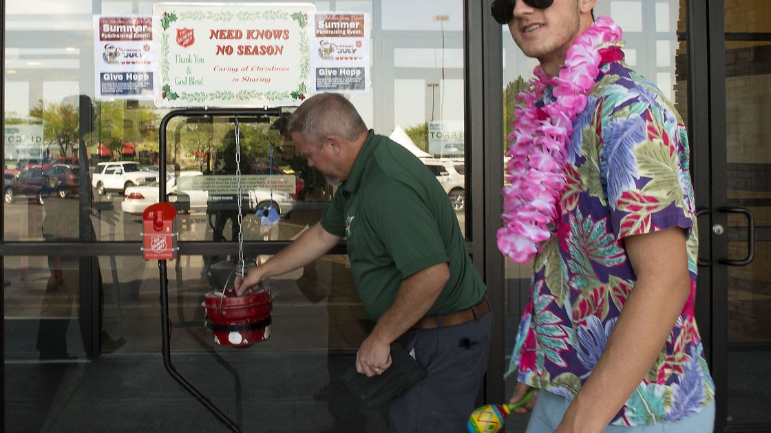 Salvation Army launches 'Christmas in July' fundraiser