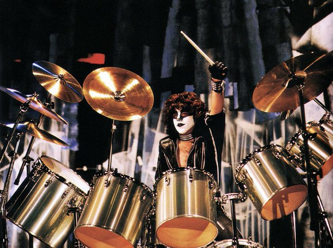 Happy 67th Birthday to Eric Carr! 7/12/50