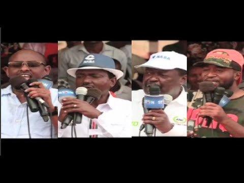 Nasa claims Jubilee has ignored Northern Kenya