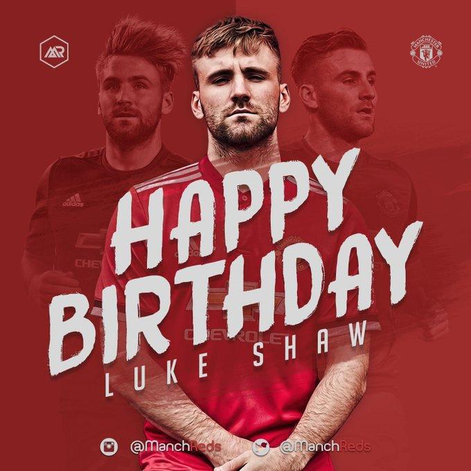 Happy 22nd birthday, Luke Shaw!