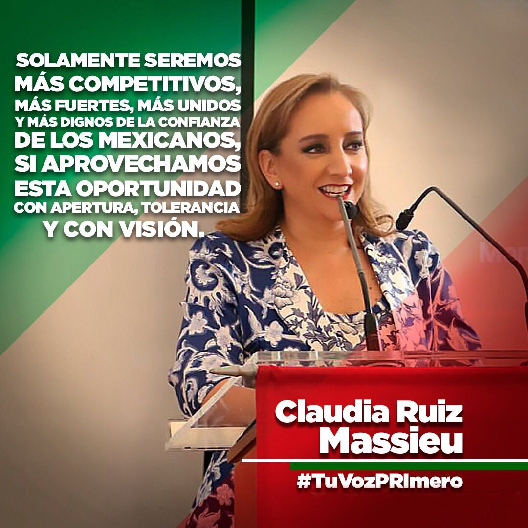 La #XXIIAsambleaPRI escucha #TuVozPRImero para conciliar, proponer y transformar nuestro país. @ruizmassieu https://t.co/17iWiC6r33