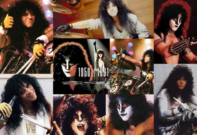 Happy Birthday Eric Carr (Kiss) r.i.p