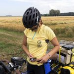 Diabetes doesn't stop cyclist from having her cake and eating it