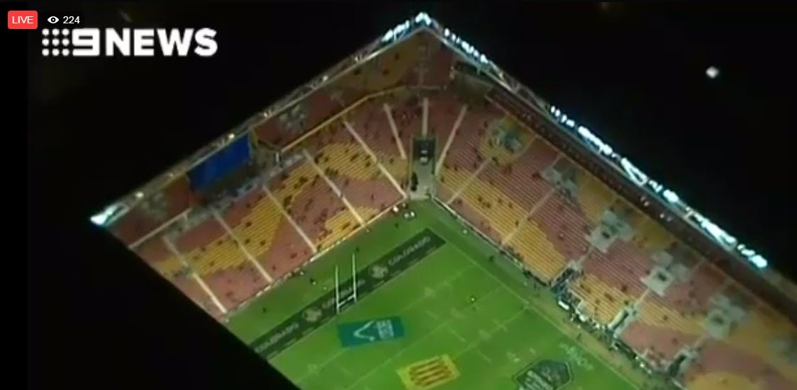 RT 9NewsQueensland: Watch live as fans begin to enter the cauldron for State of #Origin. #9News … https://t.co/nq8Xn60uFj