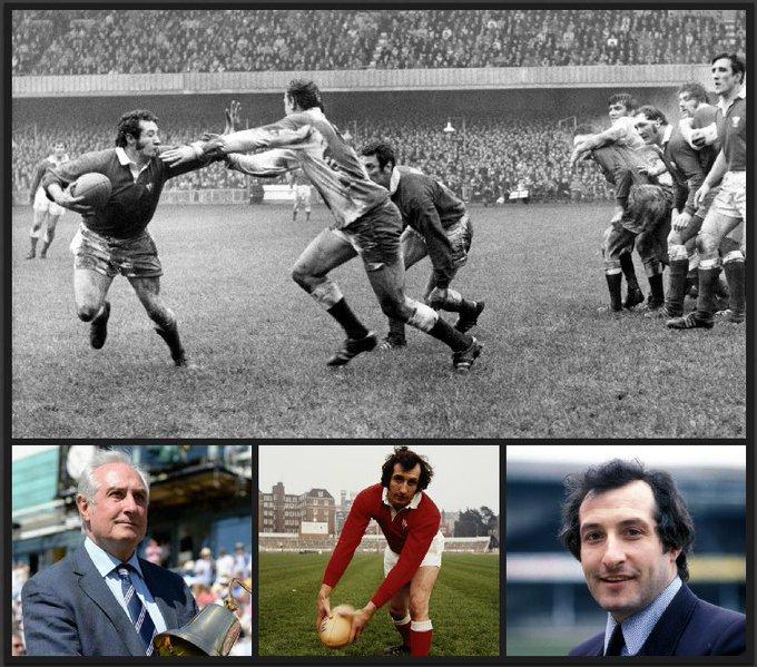 Happy 70th birthday to Welsh rugby legend Gareth Edwards