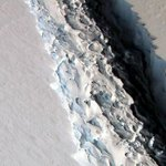 Enormous iceberg breaks off from Antarctica