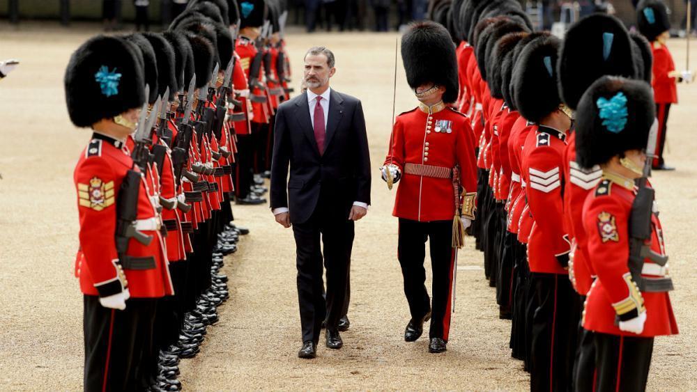 Watch live: Spain's King Felipe speaks on visit to Britain