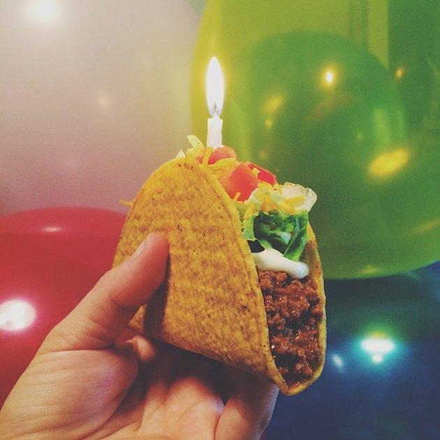 HAPPY BIRTHDAY GARETH! Enjoy your birthday taco! lol