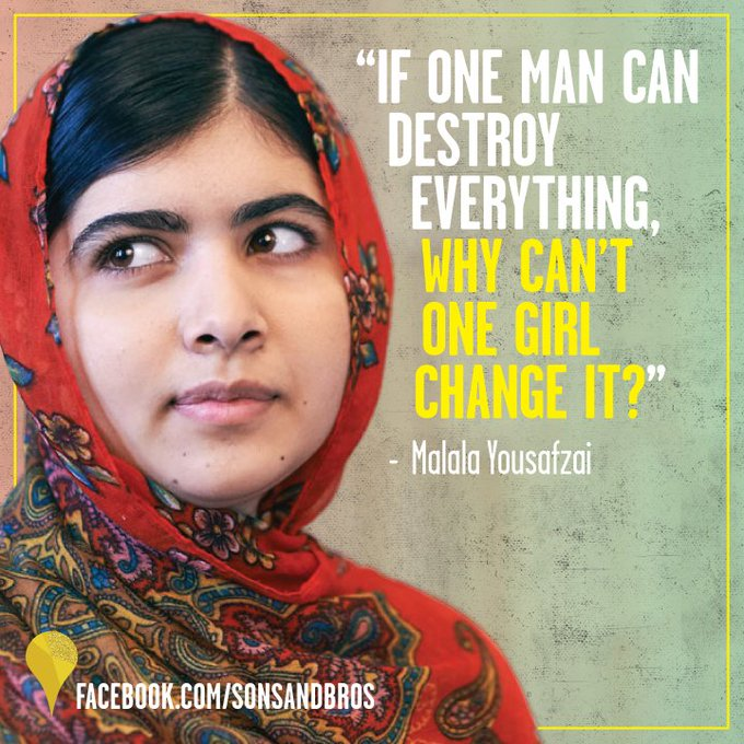 Join us in wishing Yousafzai a happy 20th birthday! This fierce leader is our hero.
