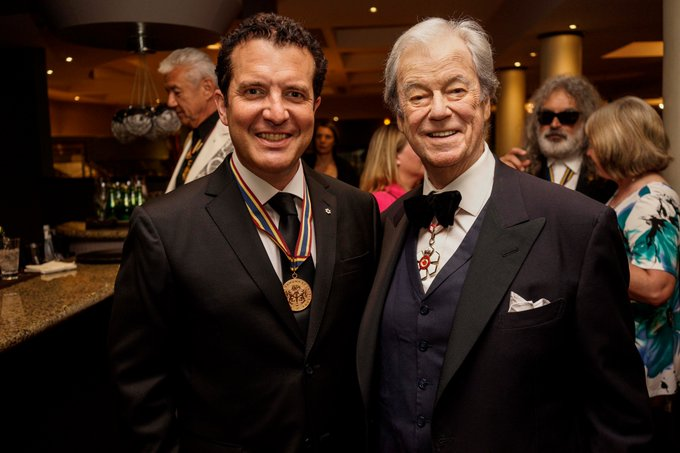 A very Happy Birthday to laureate Gordon Pinsent! Photo: