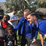 Everton players land in Tanzania for friendly encounter with Gor Mahia