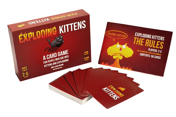 Exploding Kittens Review & Giveaway