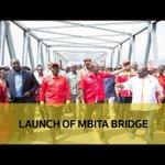 Launch of Mbita bridge