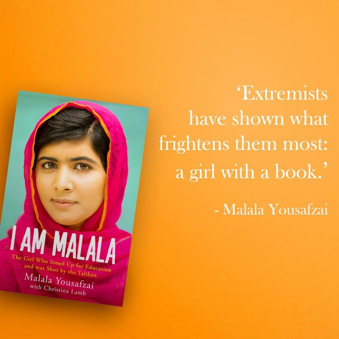 Happy birthday to Malala Yousafzai, born on this day in Mingora, Pakistan in 1997