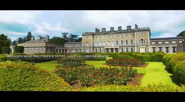 WATCH: Take a tour of Ireland's most luxurious resort Carton House - for sale at €60m