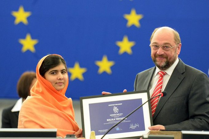 Happy Birthday to Yousafzai, an inspiring humanitarian and the 2013 winner.