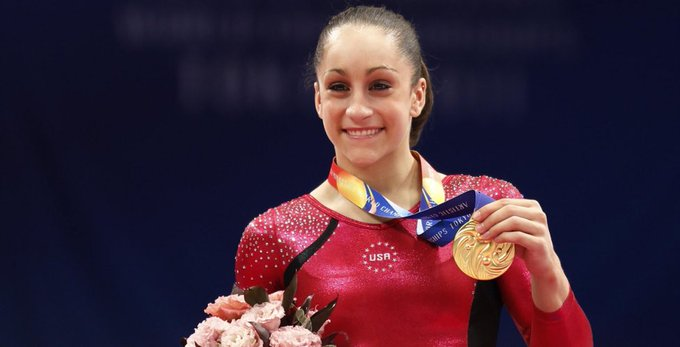Happy birthday world and Olympic gold medalist