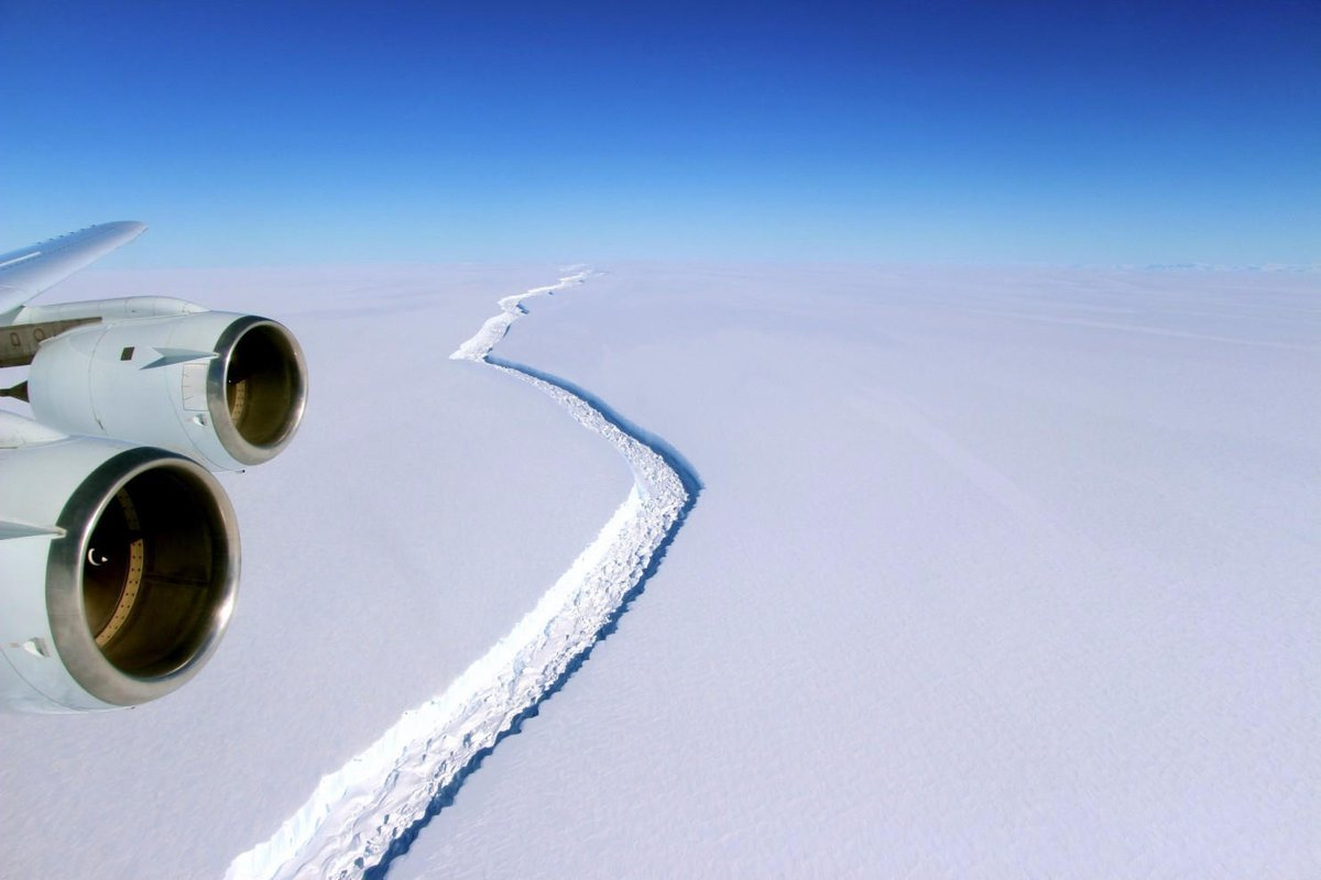 One of the biggest icebergs in recorded history has broken off from Antarctica
