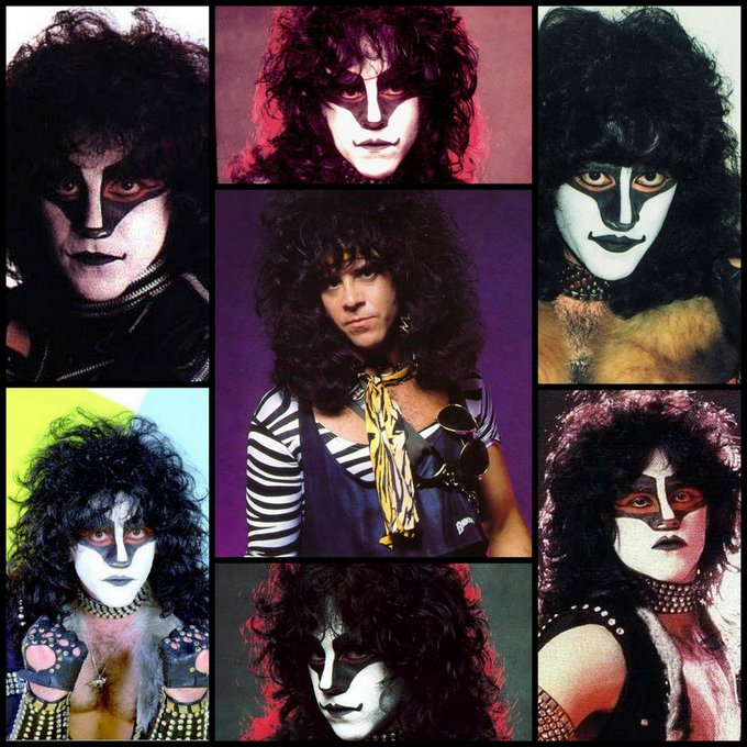 Happy Birthday to former KISS drummer Eric Carr who would\ve been 67 today