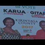 The delicate balance in Kirinyaga governorship race