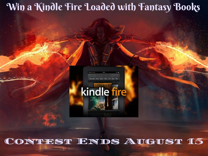 Giveaway For a Fantasy Book Loaded Kindle