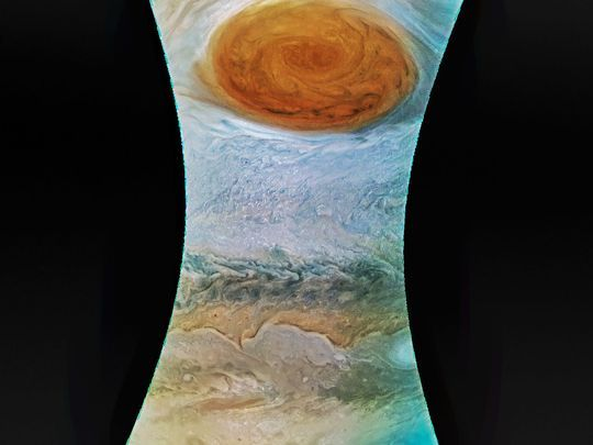 NASA scientists and space junkies got a front-row-seat look at Jupiter's Giant Red Spot.