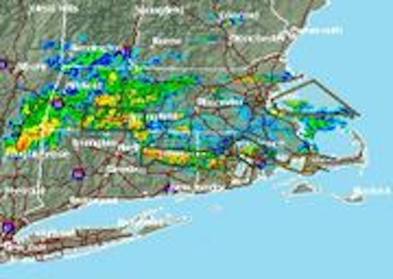 Flash flood warning issued for Hampden County, southern Hampshire County