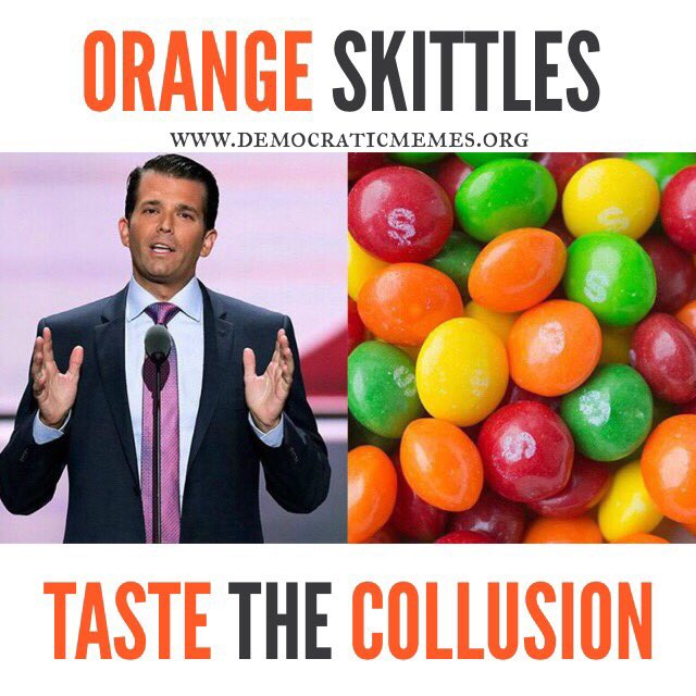 test Twitter Media - Orange Skittles: Taste the Collusion #DonaldTrumpJr #DonJrChildrensBooks #TrumpKnew https://t.co/4Syzf3VJ6n