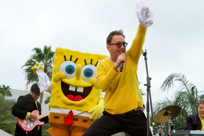 Happy Birthday to Tom Kenny, who turns 55 today!