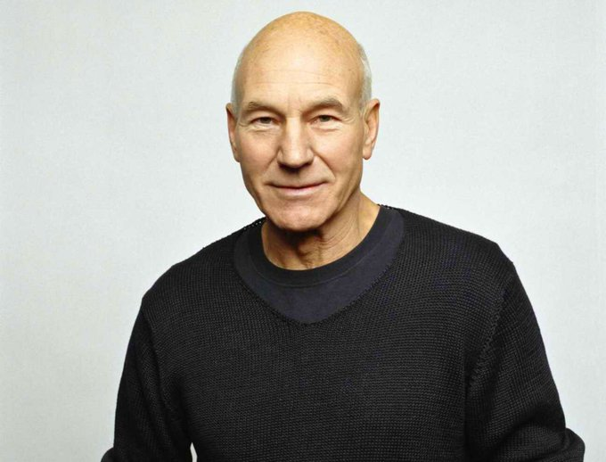 Happy 77th to Patrick Stewart born July 13, 1940