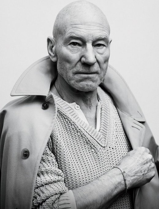 Happy Birthday to the great Sir. Patrick Stewart. My favourite Captain of the Enterprise. Happy 77th. .