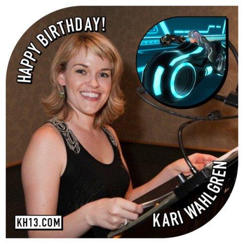 Happy 40th birthday to Kari Wahlgren (born July 13th, 1977), she...