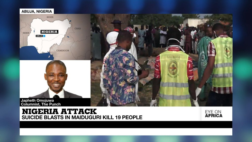 EYE ON AFRICA - Nigerian city of Maiduguri shaken by deadliest attack in months