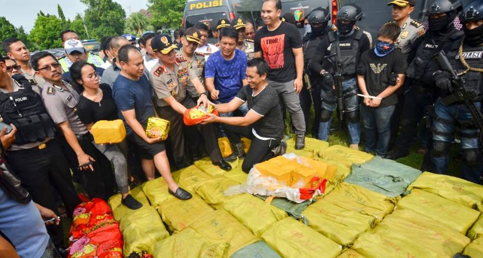 Suspected Taiwan drug smuggler shot dead by Indonesia police