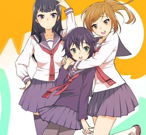 犬神さんと猫山さんこのアニメは百合アニメですと言うかぶっちゃけ1話しかないですwそして猫山さん可愛すぎてやばタンだけど僕