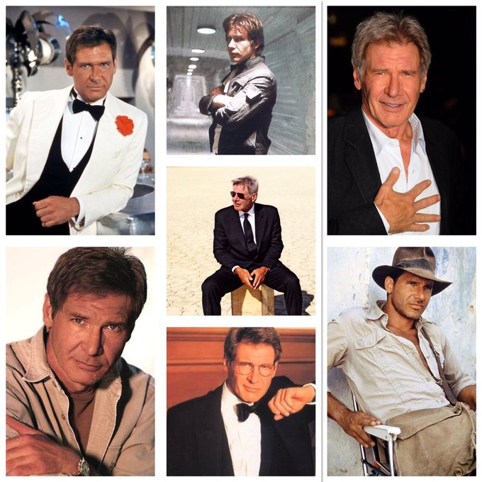 Today in History July 13th Happy 75th Birthday 1942 - Harrison Ford is born in Chicago, Illinois.