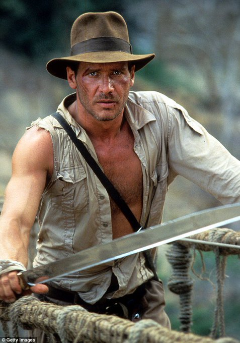 Happy birthday! Harrison Ford - 75. INDIANA JONES will return on July 10, 2020.