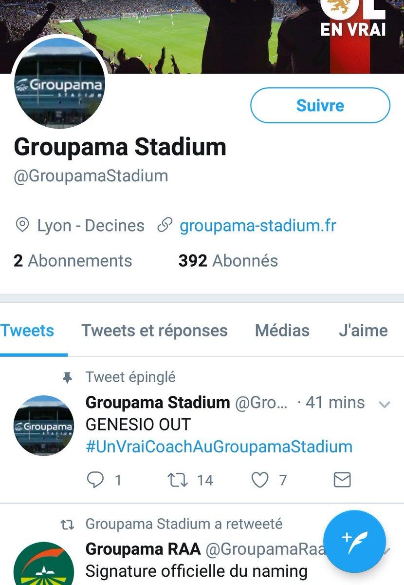 #GroupamaStadium