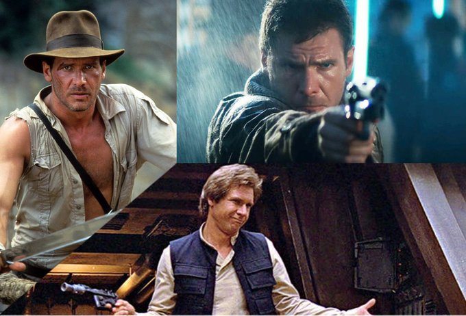Happy 75th Birthday to Harrison Ford!   Which of his movies is your favourite?