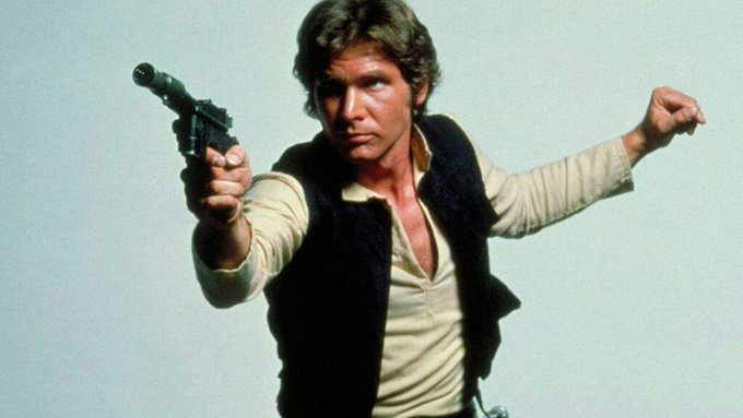 Happy birthday, Harrison Ford! May the force be with you - for another 75...