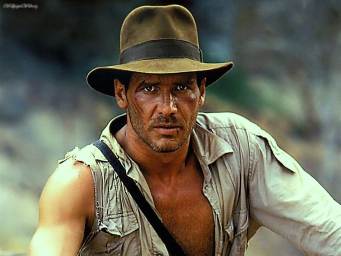 July 13  I learned that today is the birthday of Harrison Ford.  Happy Birthday Indiana Jones & Han Solo!