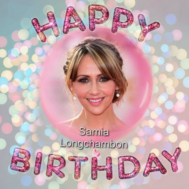 Happy Birthday to Samia Longchambon, Daniel Bentley, Tulisa Contostavlos, Simon Clist & Craig Bellamy