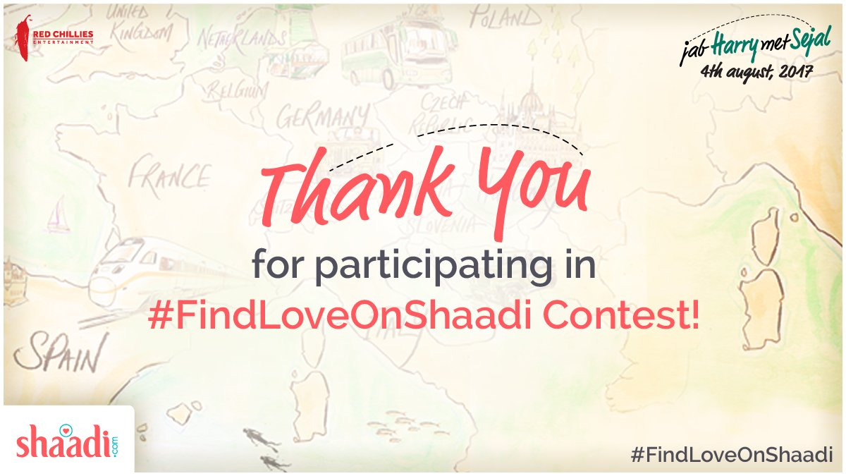 test Twitter Media - Thank you and a big hug to everyone for making #FindLoveOnShaadi contest a massive success! https://t.co/8OOnx2lglr