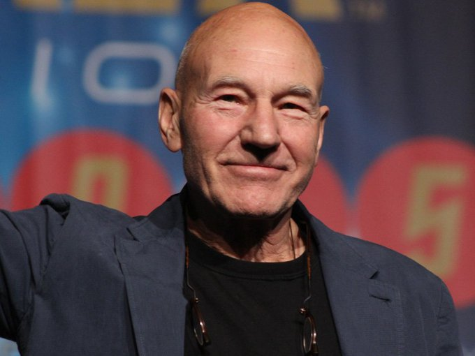 A very happy 77th birthday to Patrick Stewart / /